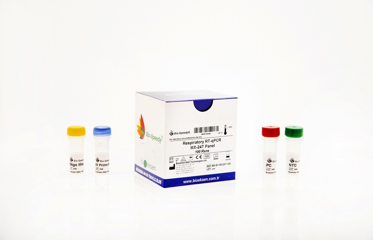 Bio-speedy® Solunum Yolu RT-qPCR MX-24T Panel